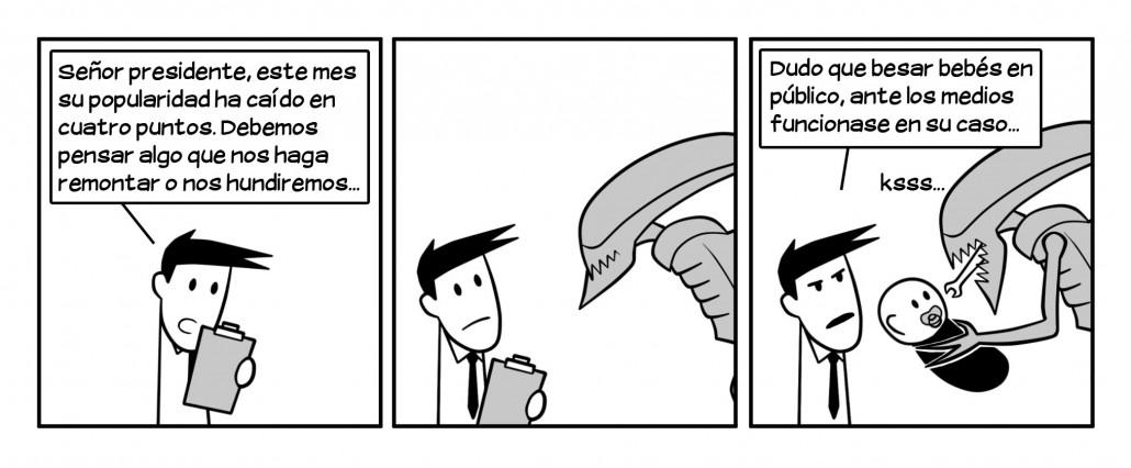 Los aliens son conocidos en toda la galaxia por tener un humor muy ácido.