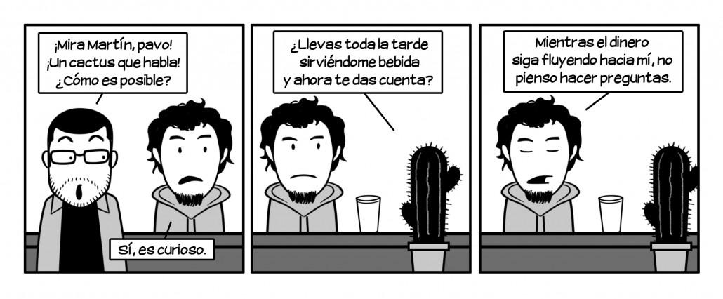 Martín ha vendido más cervezas, limpiado más sangre y pateado más culos que todos nosotros juntos.