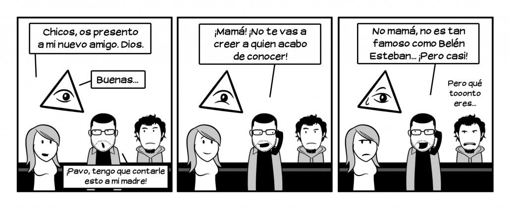 Eres muy tonto Javi, eres tontísimo, eres mazo tonto. Pero te queremos. Excepto Martín. Martín te lo dice en serio.