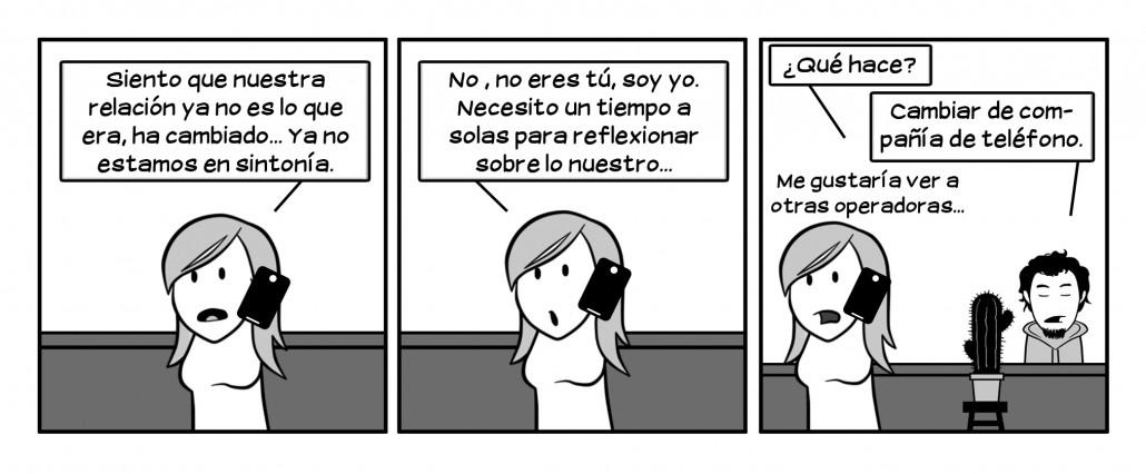 ¿Qué rara es Nuria, eh?  -Le comenta a Martín un cactus que habla y tiene especial predilección por la cerveza y las bromas crueles...