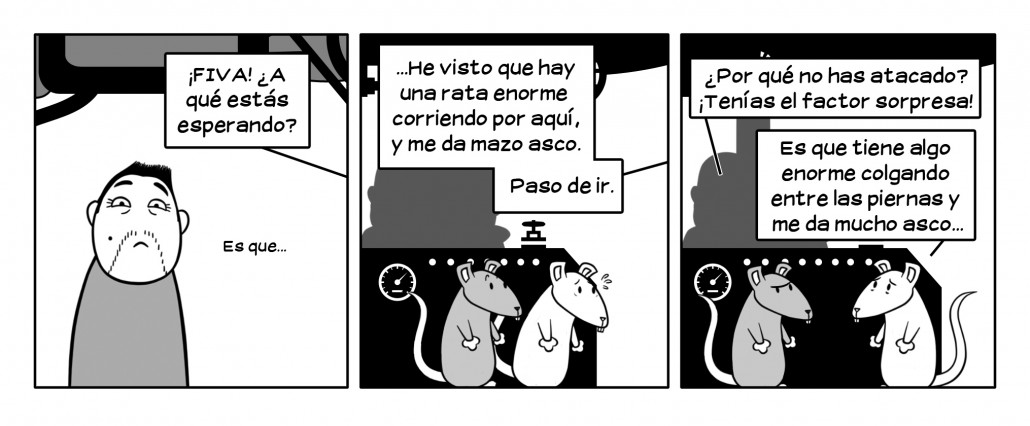 Es una rata topo desnuda, fijo.